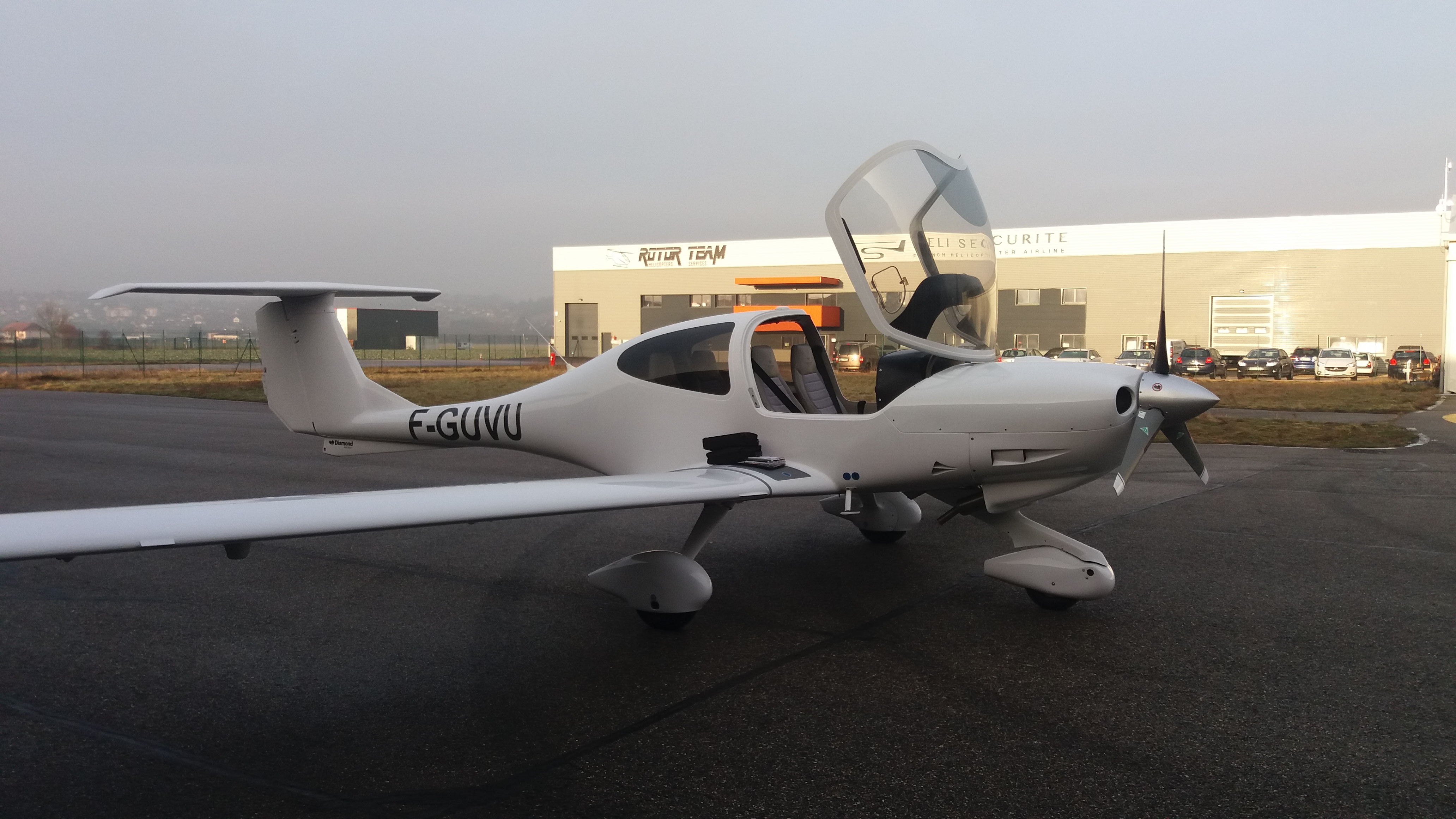 Avion Diamond Aircraft DA 40 Diamond Star - France