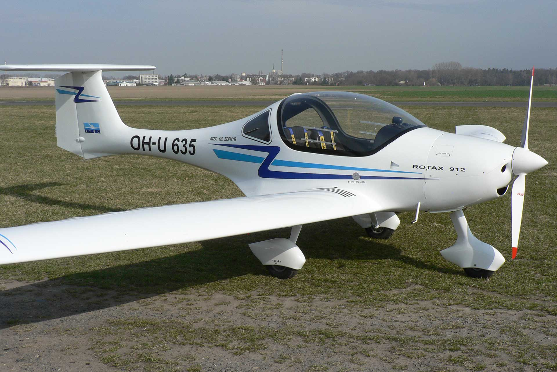 Vente d'avion d'occasion ATEC ZEPHIR par ATA by Pelletier