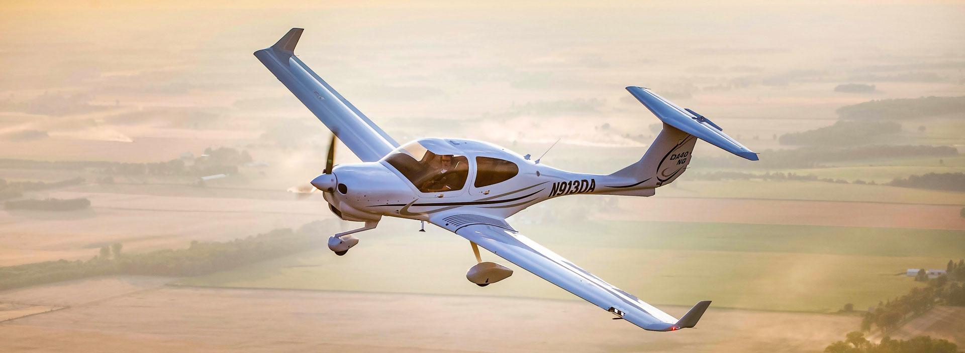 Blue Line Aviation signe une commande de 50 avions Diamond Aircraft