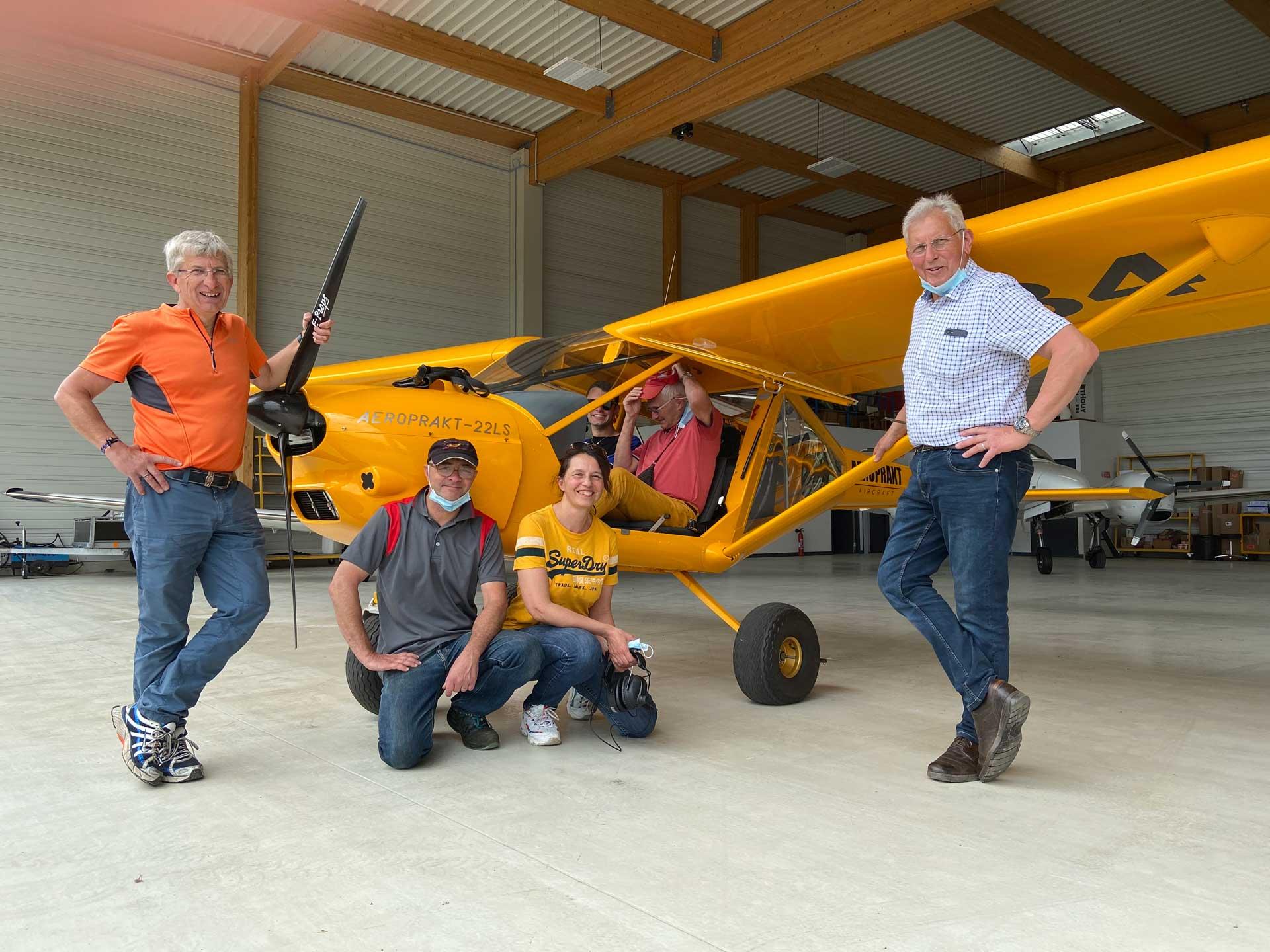 Un nouvel AEROPRAKT A22 LS livré à l'Aéro-club de Haute-Saône à Vesoul
