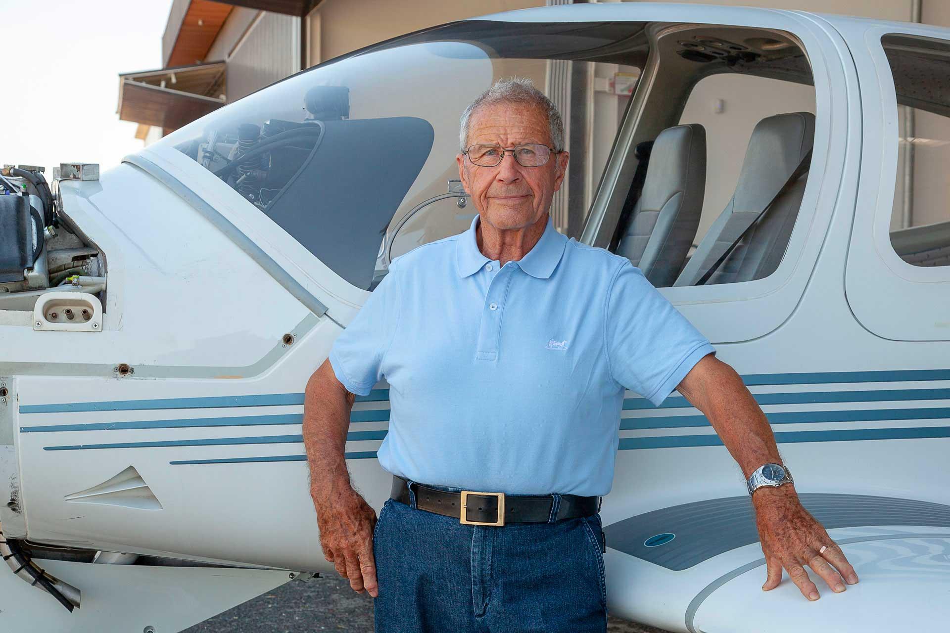Michel Pelletier : les avions Robin, c'était lui